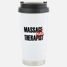 Off Duty Massage Therapist Travel Mug