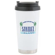 Sanibel Happy Place - Travel Mug