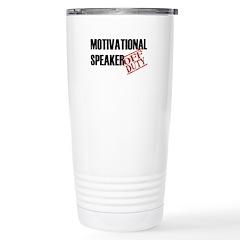 Off Duty Mot. Spkr Travel Mug