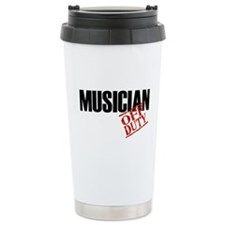 Off Duty Musician Travel Mug
