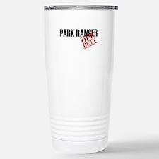 Off Duty Park Ranger Thermos Mug