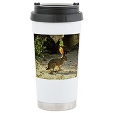 Texas Jackolope Travel Mug