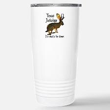 Texas Jackalope Stainless Steel Travel Mug