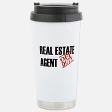Off Duty Real Estate Agent Stainless Steel Travel