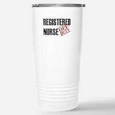 Off Duty Registered Nurse Travel Mug