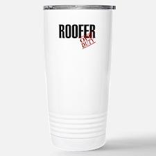 Off Duty Roofer Travel Mug