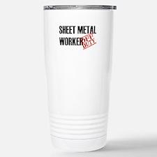 Off Duty Sheet Metal Worker Travel Mug
