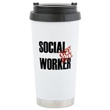 Off Duty Social Worker Travel Mug