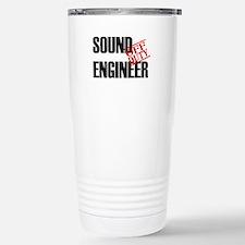Off Duty Sound Engineer Travel Mug
