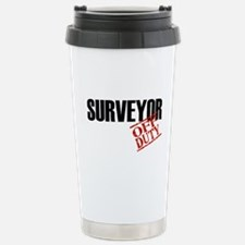 Off Duty Surveyor Travel Mug