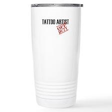 Off Duty Tattoo Artist Travel Mug