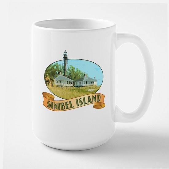 Sanibel Lighthouse - Large Mug
