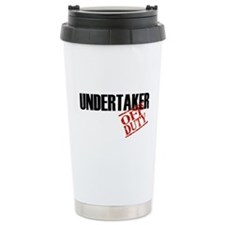 Off Duty Undertaker Travel Mug