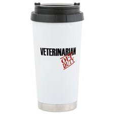 Off Duty Veterinarian Travel Mug