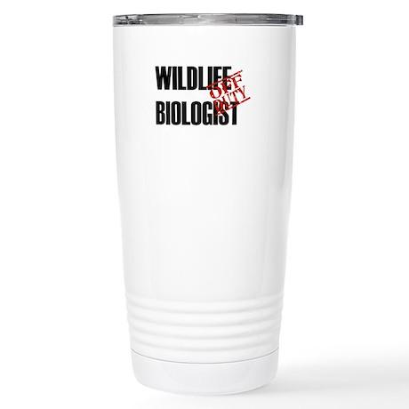 Off Duty Wildlife Biologist Stainless Steel Travel