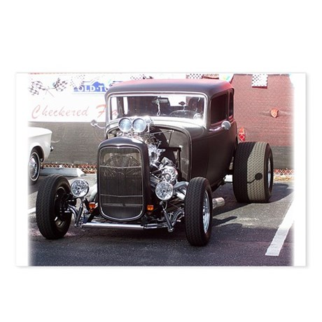 Hot Rod Postcards (Package of 8)