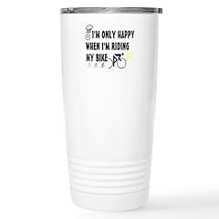 Only Happy Riding Travel Mug