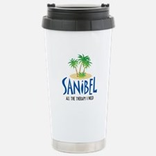 Sanibel Therapy Stainless Steel Travel Mug