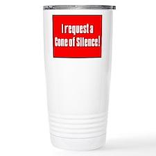 Cone of Silence Get Smart Ceramic Travel Mug