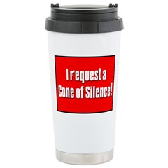 Cone of Silence Get Smart Travel Mug