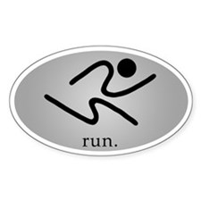 iRun2 Sticker (Silver)
