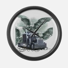Independent Spirit Large Wall Clock