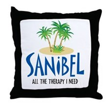 Sanibel Therapy Throw Pillow