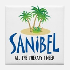 Sanibel Therapy Tile Coaster