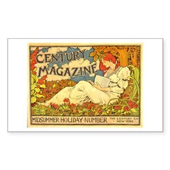 Century Magazine Rectangle Sticker 10 pk)