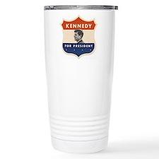 JFK '60 Shield Travel Coffee Mug