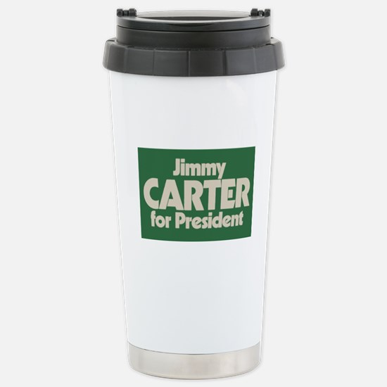 Carter for President Stainless Steel Travel Mug