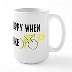 Only Happy Riding Large Mug