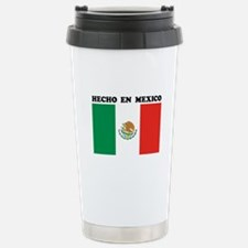 Hecho en Mexico Stainless Steel Travel Mug