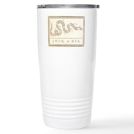 Join or Die Stainless Steel Travel Mug
