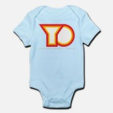 YO-Red Forward Infant Bodysuit