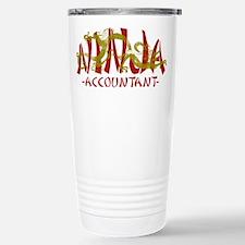 Dragon Ninja Accountant Stainless Steel Travel Mug