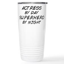 Actress Superhero Travel Mug