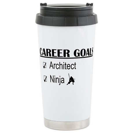 Architect Career Goals Stainless Steel Travel Mug