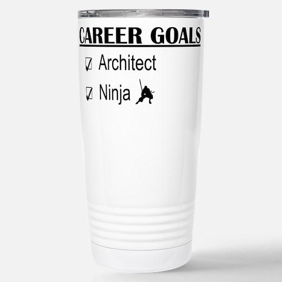Architect Career Goals Stainless Steel Travel Mug