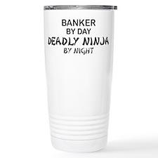 Banker Deadly Ninja Travel Mug