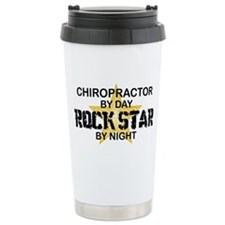 Chiropractor Rock Star Travel Mug