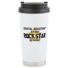 Dental Asst RockStar by Night Travel Mug