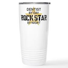 Dentist RockStar by Night Travel Mug