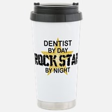 Dentist RockStar by Night Travel Mug