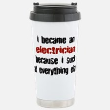 Cute Electrician career Travel Mug