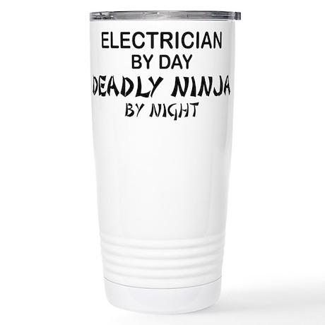 Electrician Deadly Ninja Stainless Steel Travel Mu