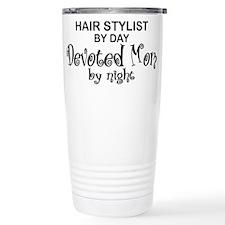 Hair Stylist Devoted Mom Travel Mug