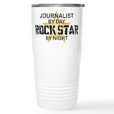 Journalist Rock Star Travel Mug