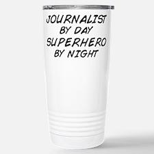 Journalist Superhero Travel Mug