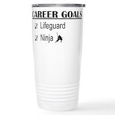 Lifeguard Career Goals Travel Mug